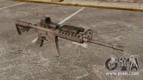 M4 carbine SOPMOD v3 for GTA 4