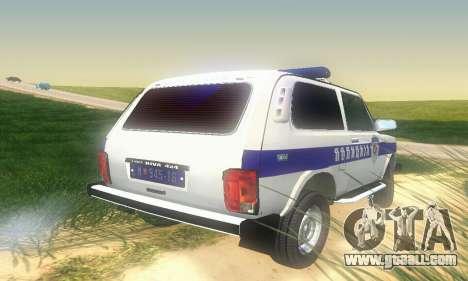 Lada Niva Patrola for GTA San Andreas right view