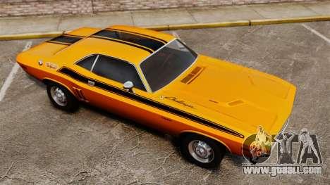 Dodge Challenger 1971 v2 for GTA 4 interior
