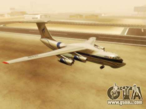 Il-76td Gazpromavia for GTA San Andreas