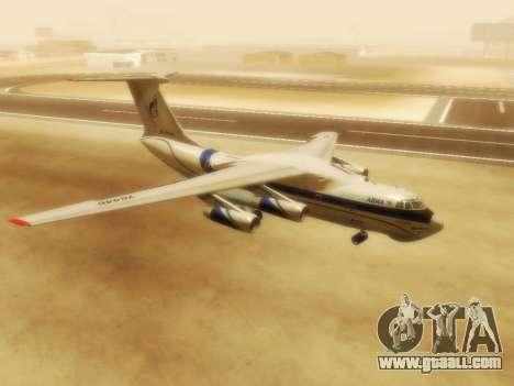 Il-76td Gazpromavia for GTA San Andreas