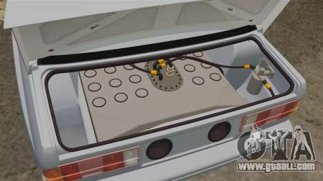 BMW M3 1990 Race version for GTA 4 inner view