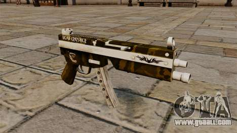 The MP5 submachine gun Head Crusher for GTA 4