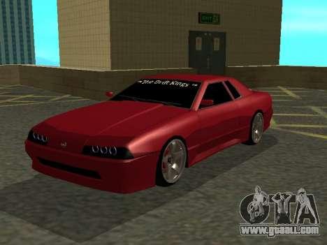 Elegy TDK-The Drift Kings for GTA San Andreas left view