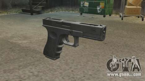 Auto Glock 18 c MW2 for GTA 4