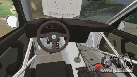 BMW M3 1990 Race version for GTA 4 side view