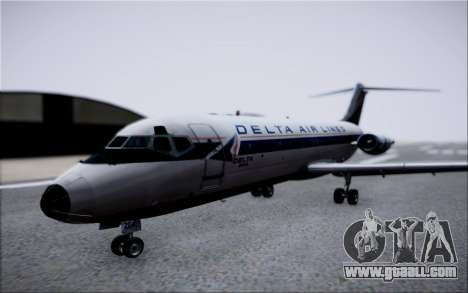 McDonnel Douglas DC-9-10 for GTA San Andreas inner view