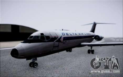 McDonnel Douglas DC-9-10 for GTA San Andreas inner view