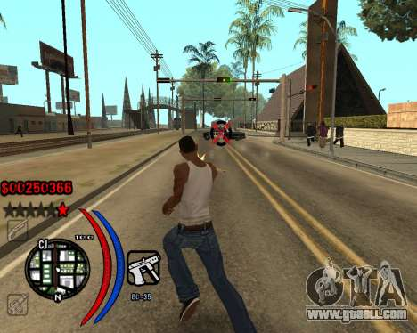 C-HUD Carbon for GTA San Andreas second screenshot