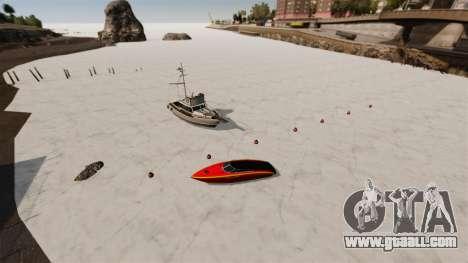 Frozen water for GTA 4
