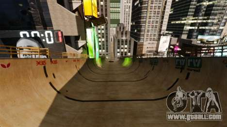 Algonquin Stunt Ramp for GTA 4 third screenshot