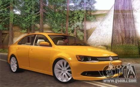 Volkswagen Vento 2012 for GTA San Andreas left view