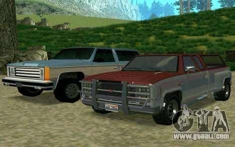 Bobcat XL of GTA 5 for GTA San Andreas back left view