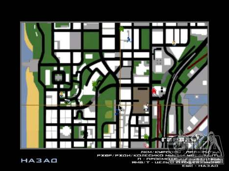 New Hood and icons on the map for GTA San Andreas second screenshot