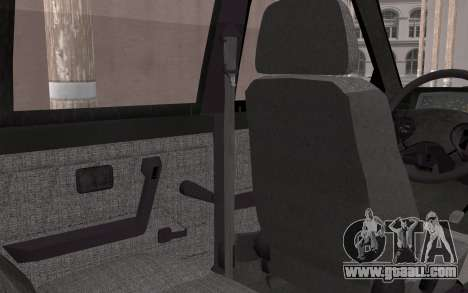 FSO Polonez Caro 1.4 GLI 16V for GTA San Andreas back view