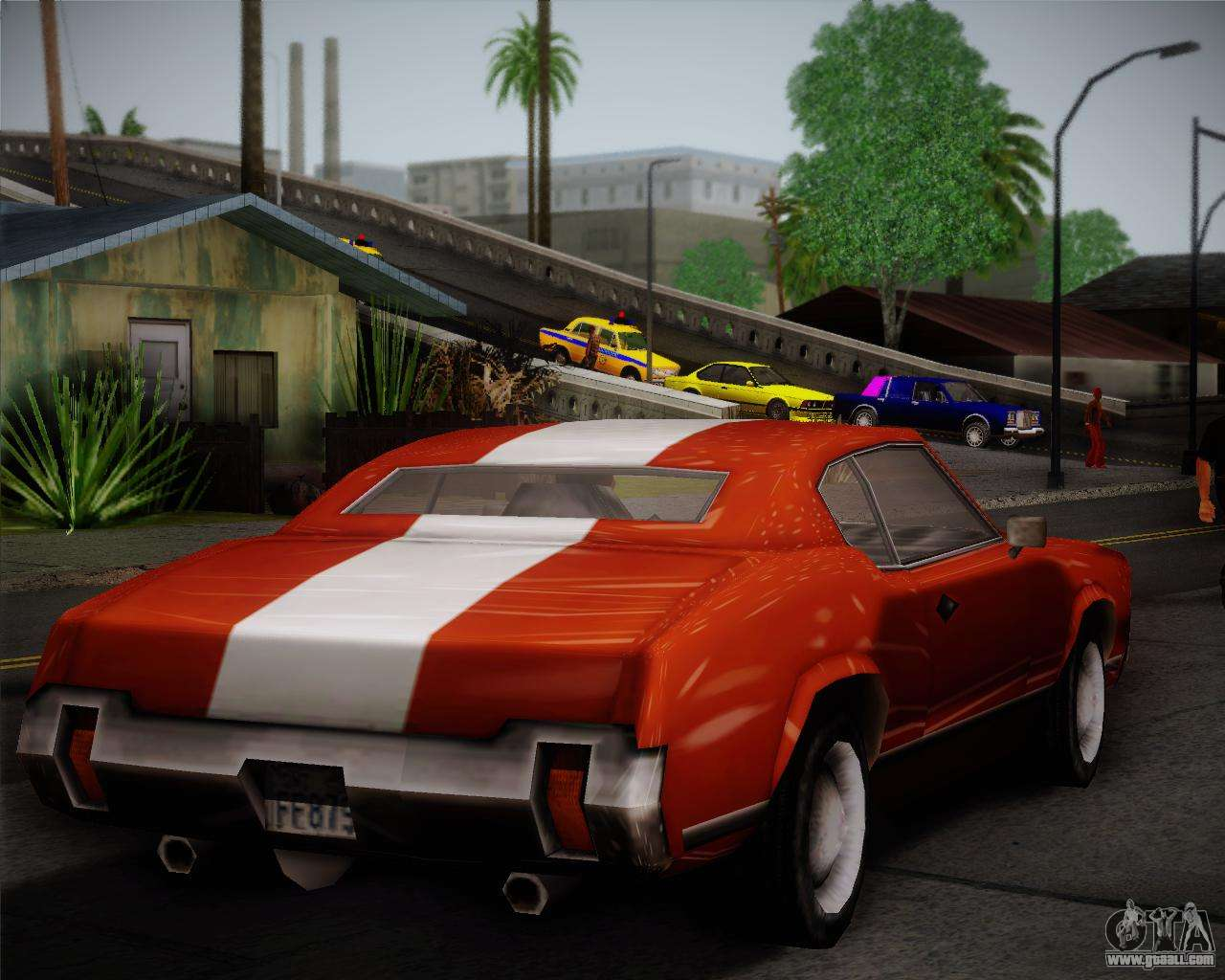 Sabre Turbo for GTA San Andreas