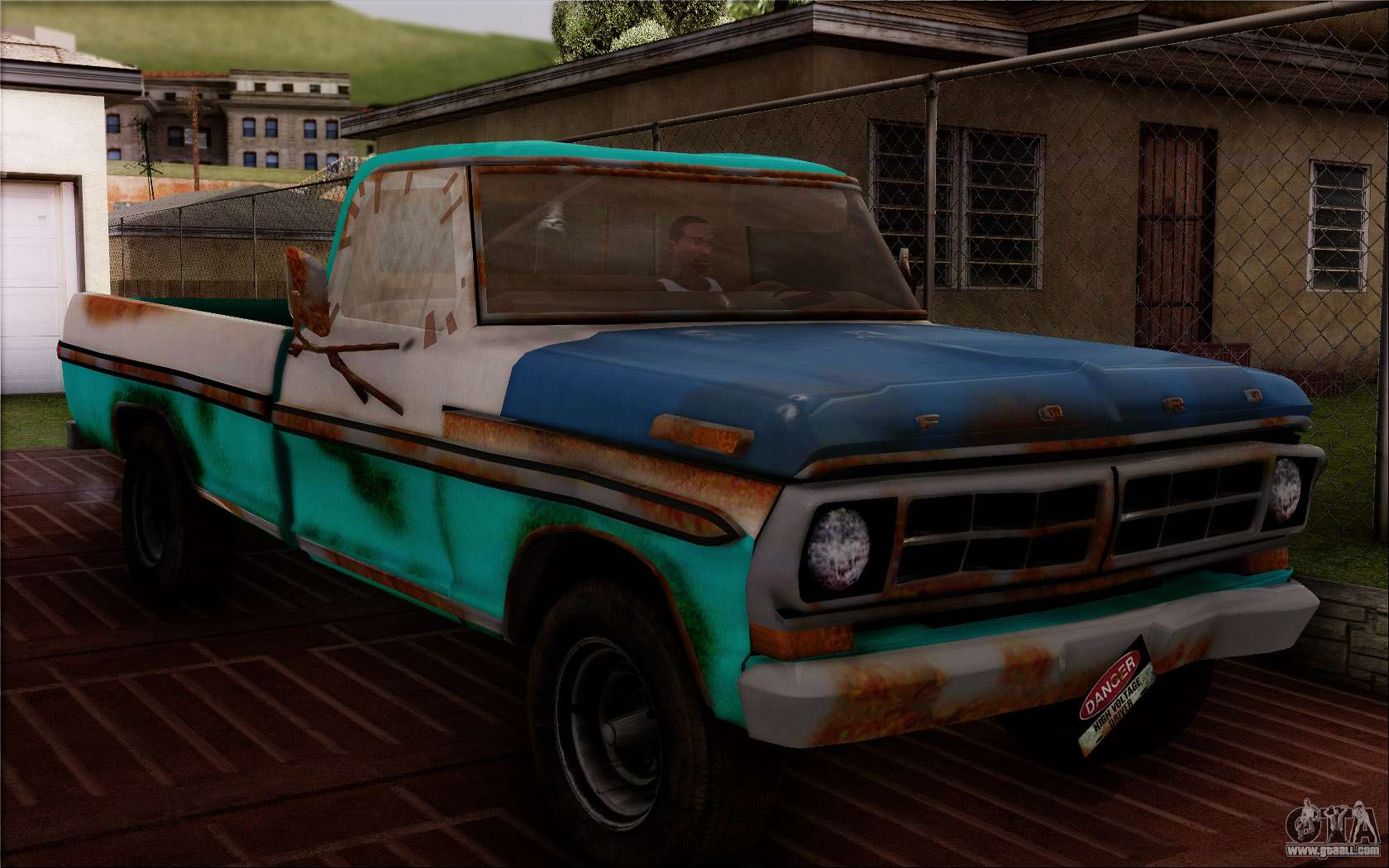 Ford F 150 Old Crate Edition For Gta San Andreas 1964 4x4