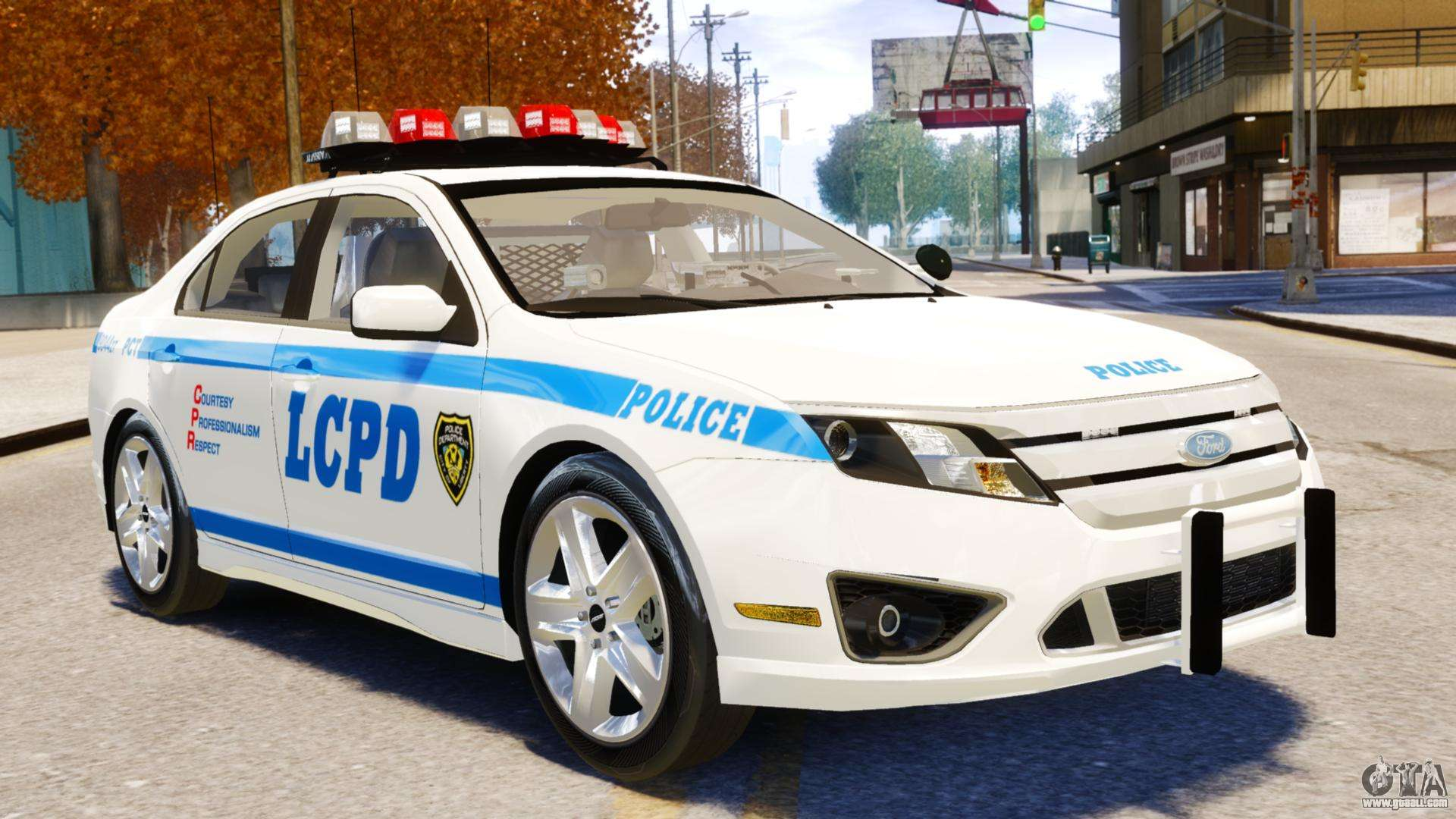 Ford Fusion Mods >> Ford Fusion LCPD 2011 [ELS] for GTA 4