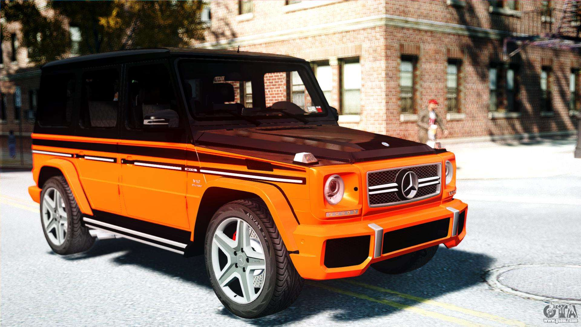 Mercedes benz g65 amg 2013 for gta 4 for Mercedes benz g65