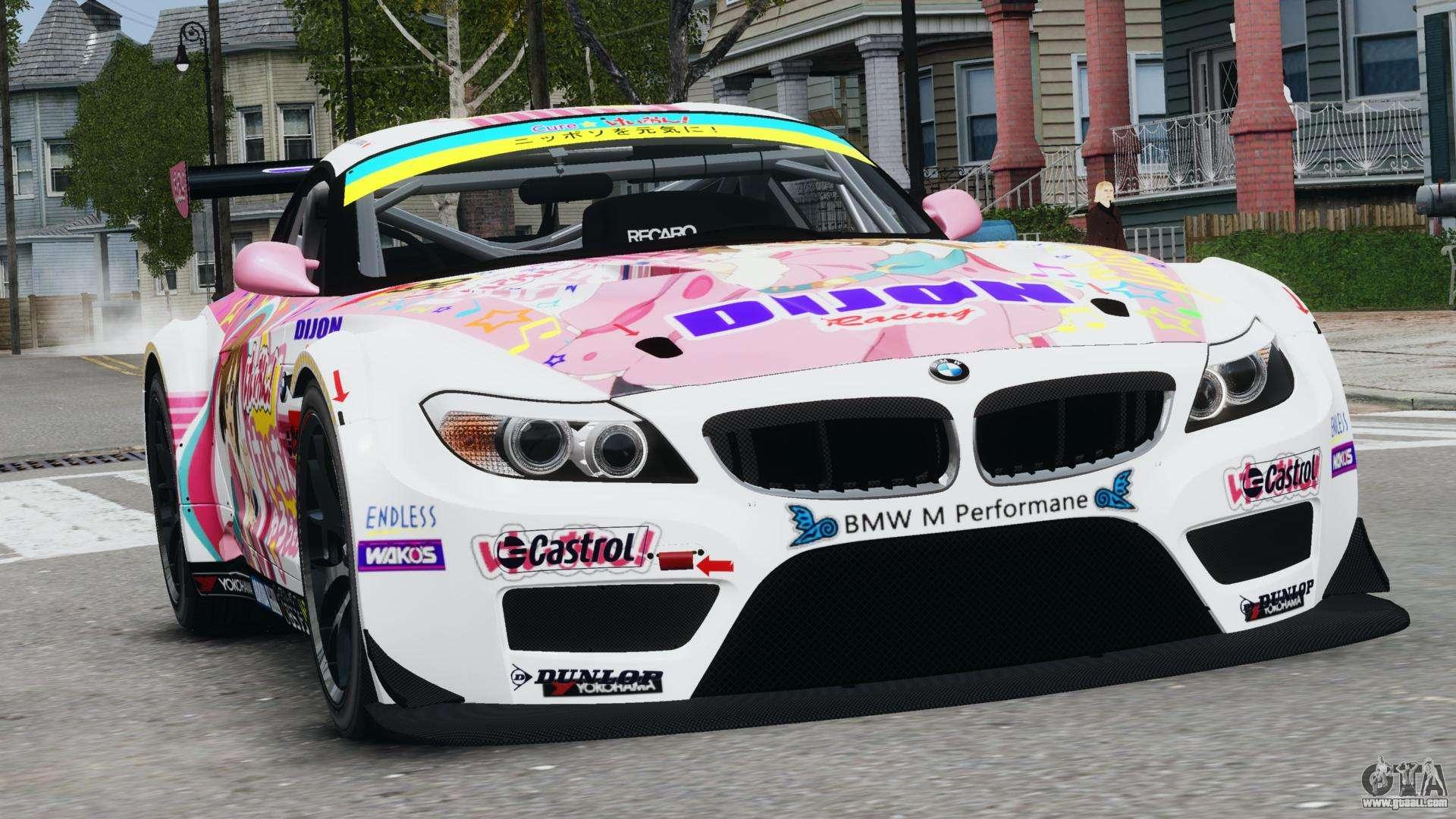 BMW Z4 GT3 2010 for GTA 4