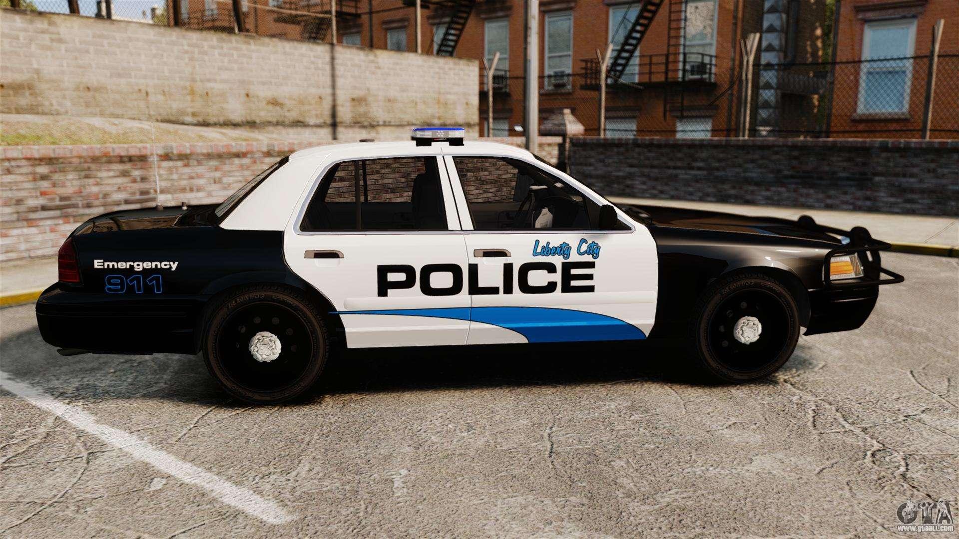 ford crown victoria police interceptor els for gta 4. Black Bedroom Furniture Sets. Home Design Ideas