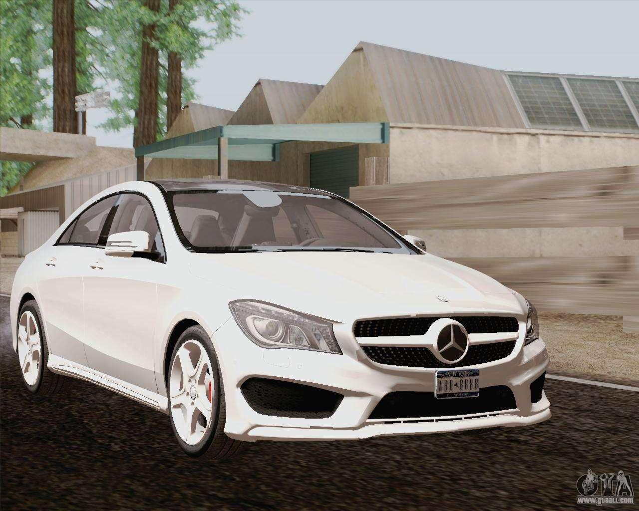 Mercedes benz cla 250 2013 for gta san andreas for 2013 cla mercedes benz