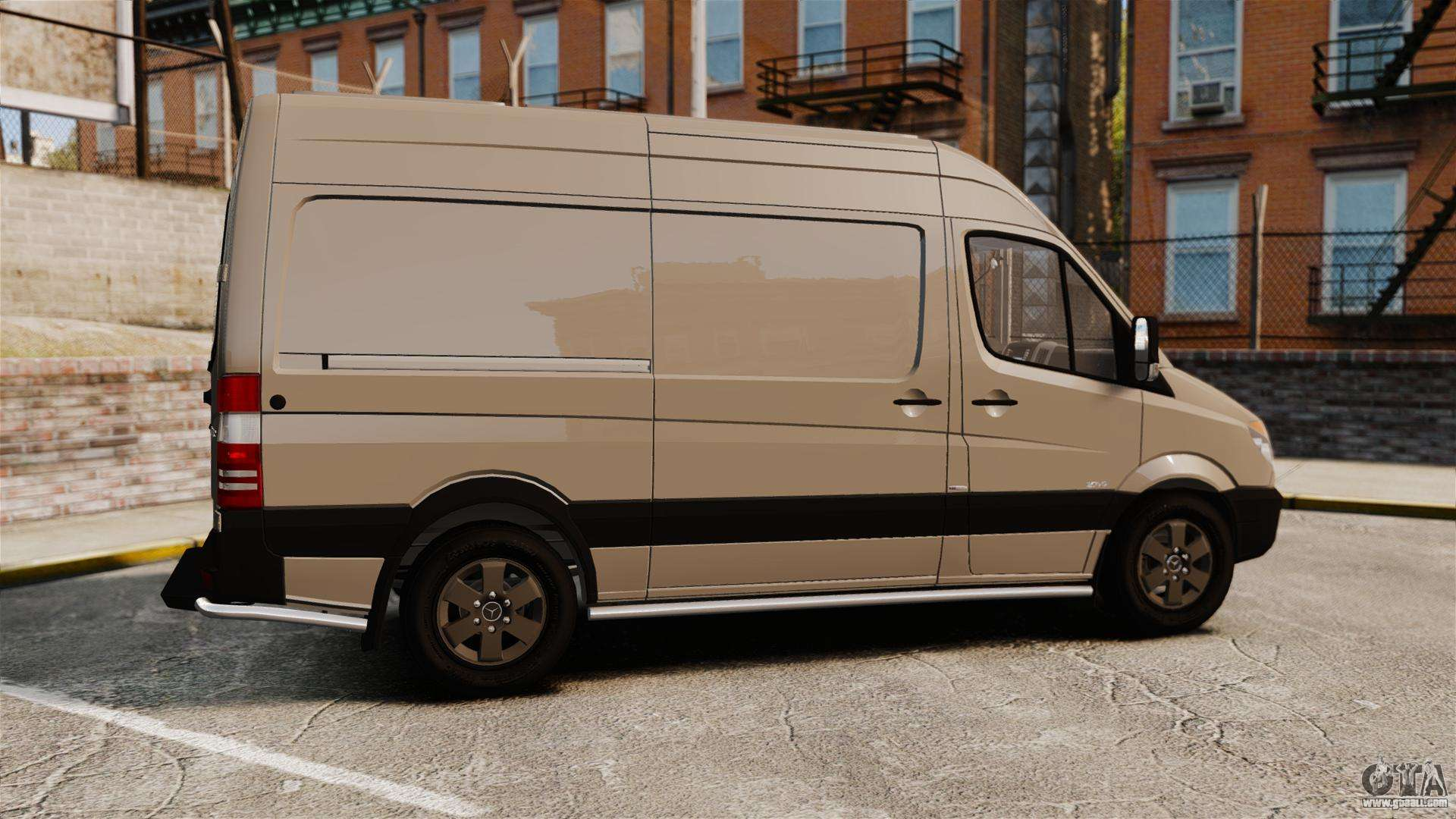 mercedes benz sprinter 2500 2011 v1 4 for gta 4. Black Bedroom Furniture Sets. Home Design Ideas
