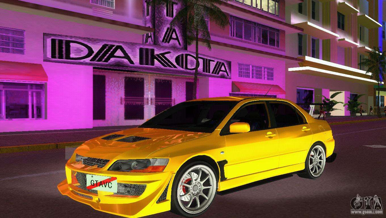 Mitsubishi Lancer Evolution Viii Type 8 For Gta Vice City