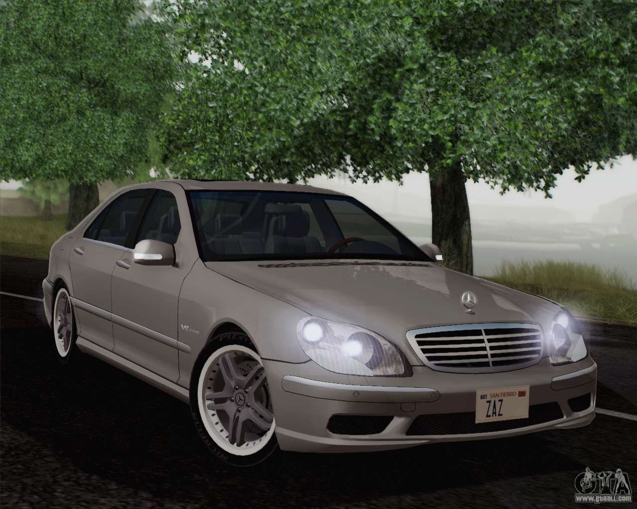 Mercedes benz amg s65 2004 for gta san andreas for Mercedes benz amg s65