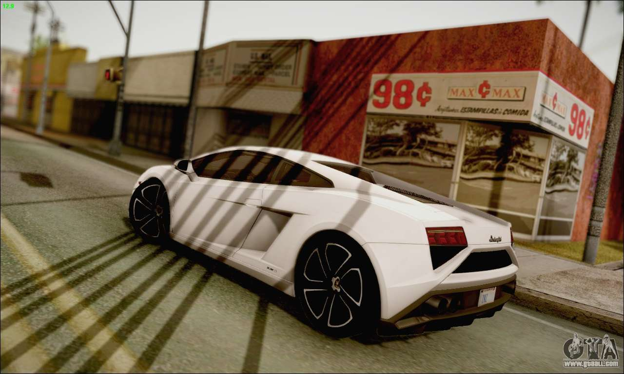 Lamborghini Gallardo LP560 4 2013 For GTA San Andreas Left View