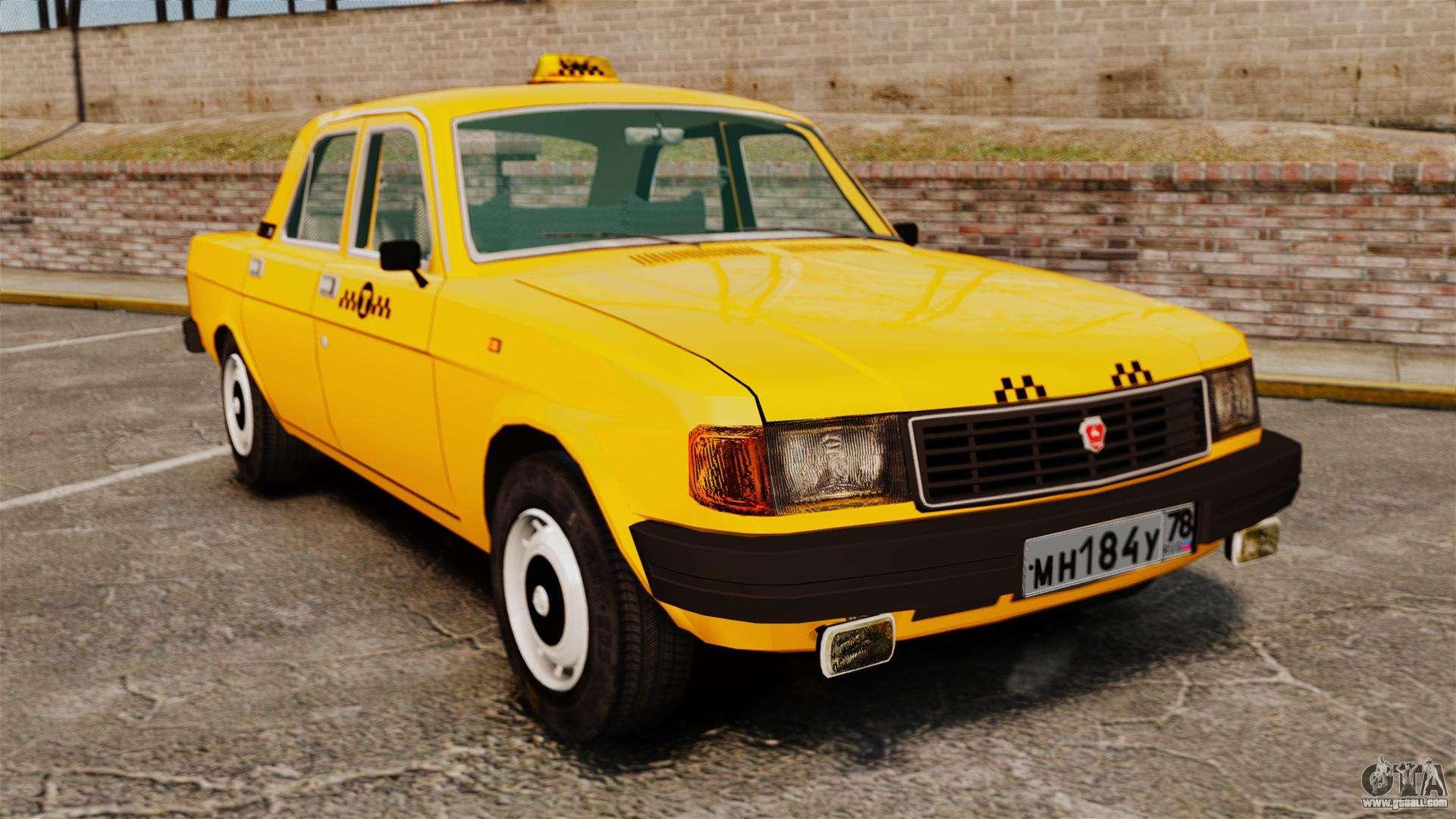 gaz 31029 taxi for gta 4. Black Bedroom Furniture Sets. Home Design Ideas