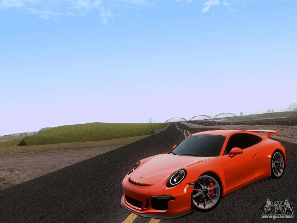 porsche 911 gt3 2014 for gta san andreas. Black Bedroom Furniture Sets. Home Design Ideas