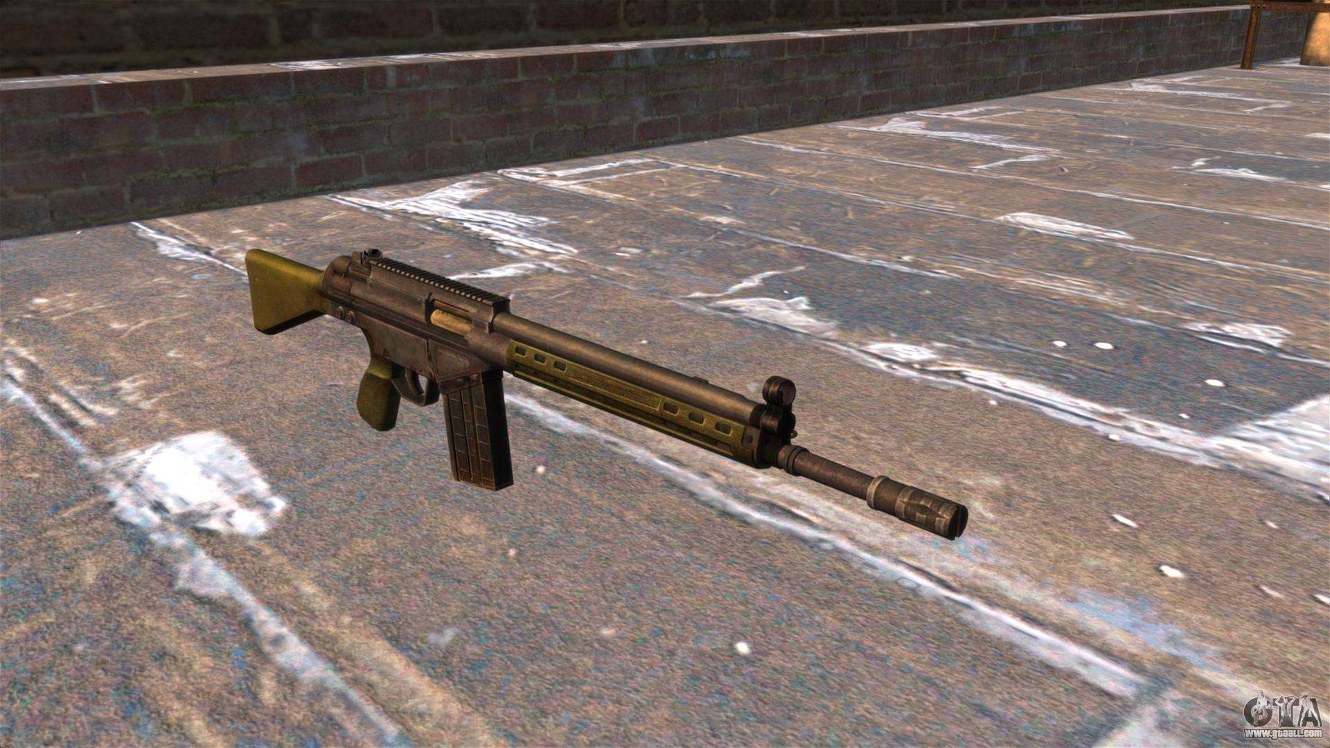 Hk g3 automatic rifle for gta 4 for Portent g3 sw 12