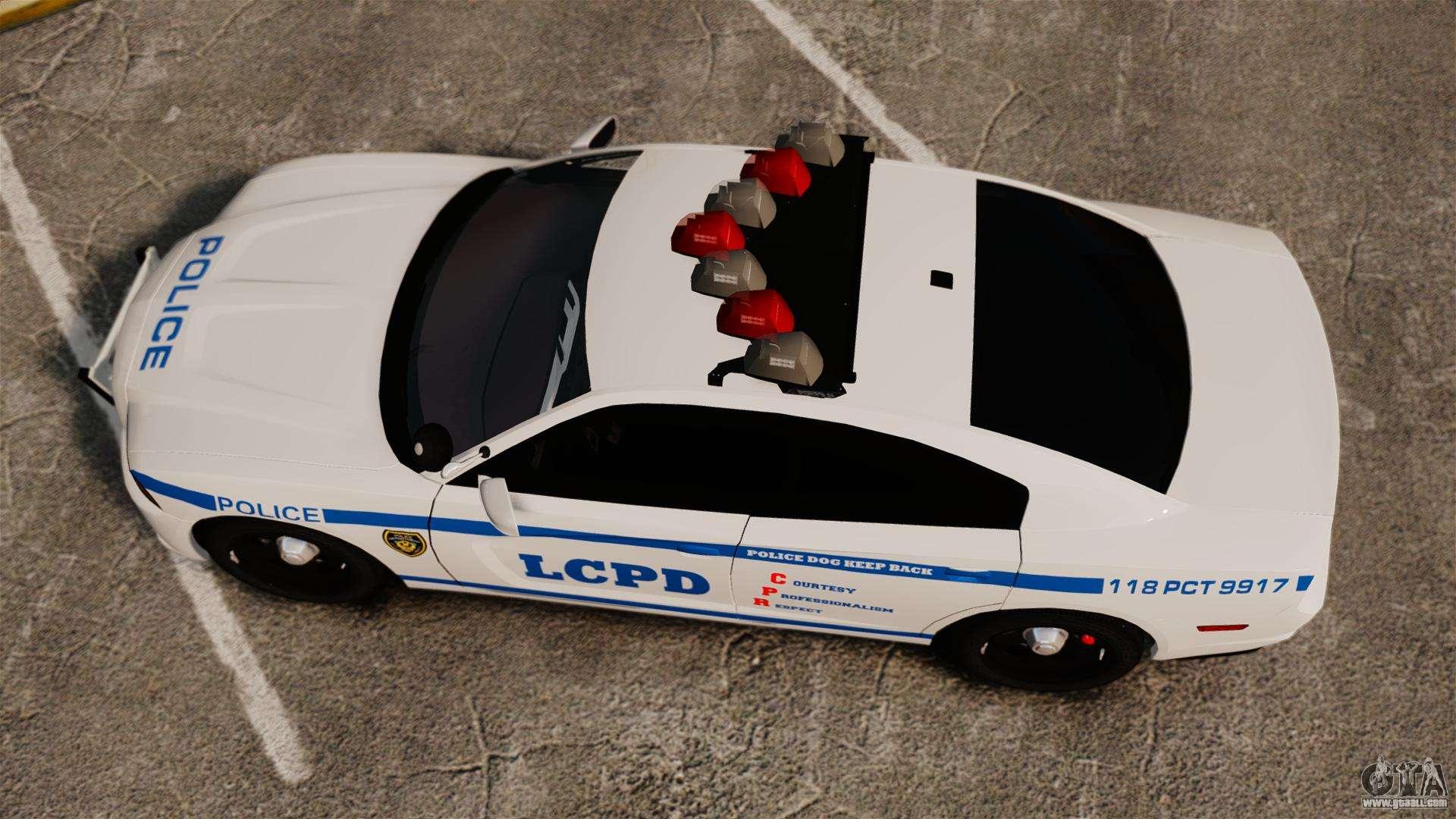 8 Passenger Minivan >> Dodge Charger 2012 LCPD [ELS] for GTA 4