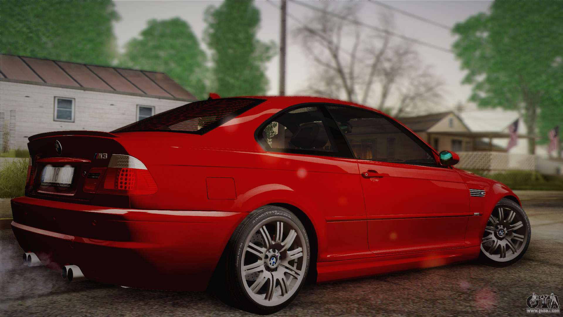 bmw e46 m3 coupe for gta san andreas. Black Bedroom Furniture Sets. Home Design Ideas