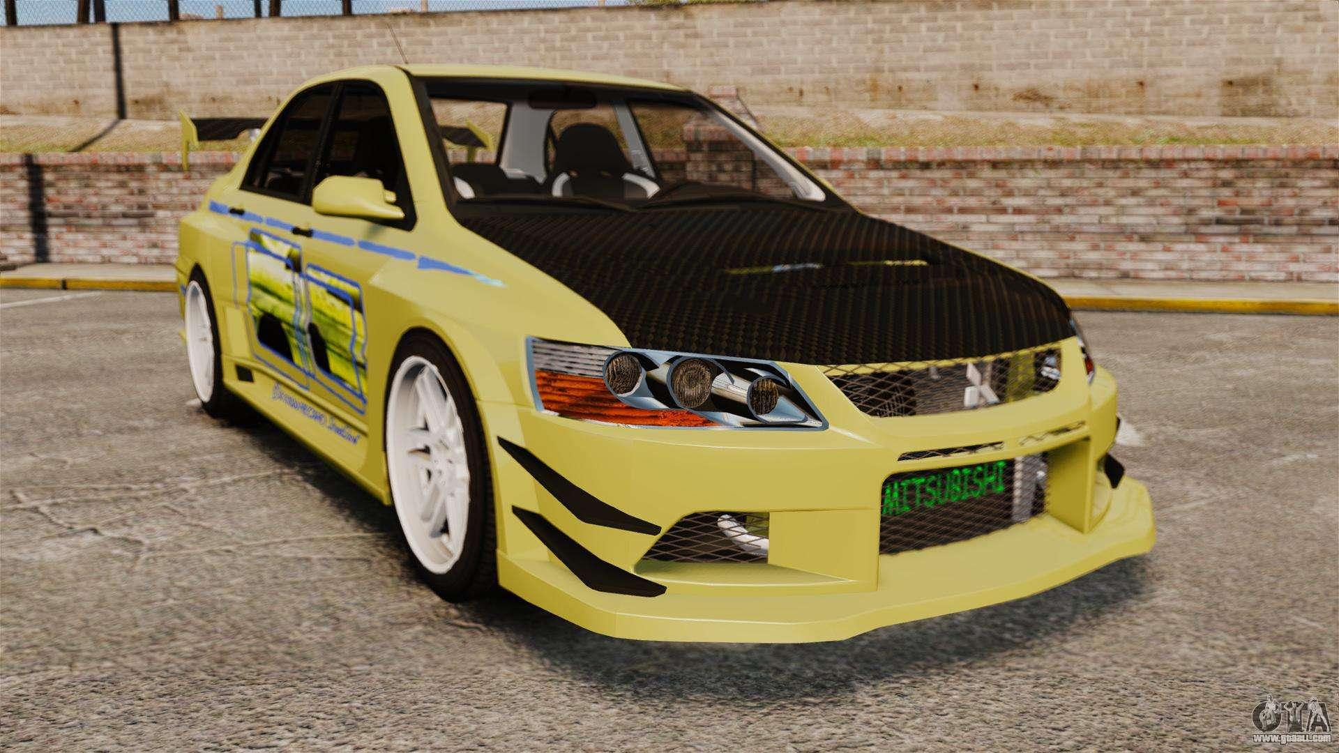 Mitsubishi Lancer Evolution Ix 2006 Tuning 2f2f For Gta 4