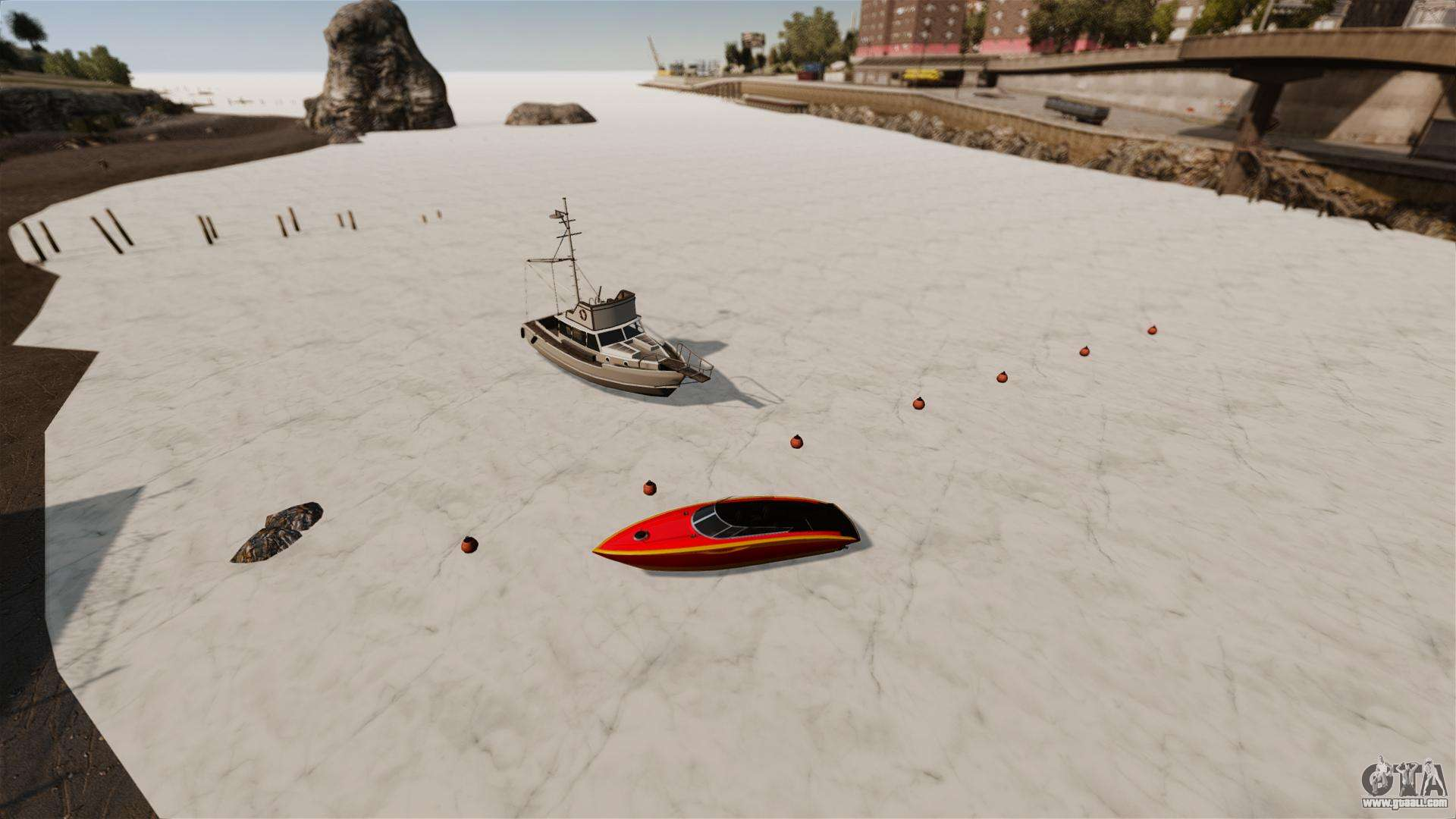 Frozen Water For GTA 4
