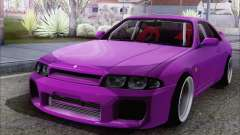Nissan Skyline R33 GTS25T JDM for GTA San Andreas