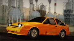 Toyota Corolla GT-S AE86 1985 for GTA San Andreas