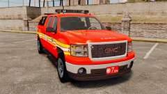GMC Sierra 2500HD 2010 FDNY [ELS] for GTA 4