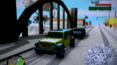 Jeep Wrangler Unlimited 2007 for GTA San Andreas