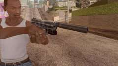 Pistol with silencer