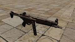 Submachine gun MP5 black stalker for GTA 4