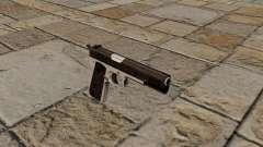 Semiautomatic pistol Taurus PT1911 for GTA 4