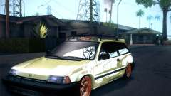 Honda Civic Si 1986 for GTA San Andreas