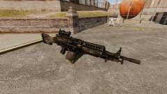 FN Mk 46 light machine gun