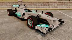 Mercedes AMG F1 W04 v6 for GTA 4