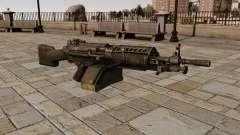The M249 light machine gun