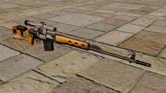 Dragunov sniper rifle of S.T.A.L.K.E.R. for GTA 4