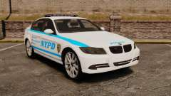 BMW 350i NYPD [ELS] for GTA 4